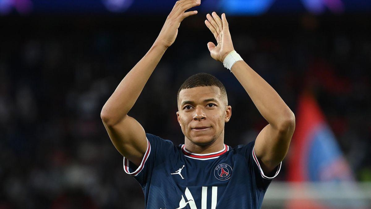 Kylian Mbappé von Paris Saint-Germain