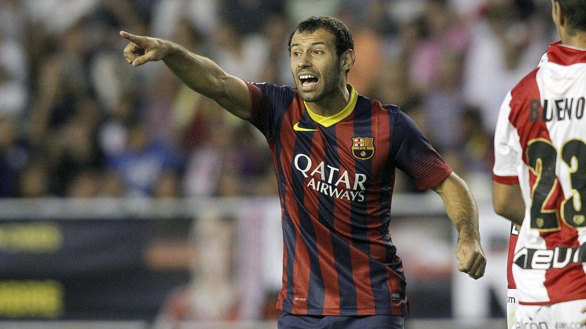 Javier Mascherano, milieu de terrain reconverti défenseur central du Barça