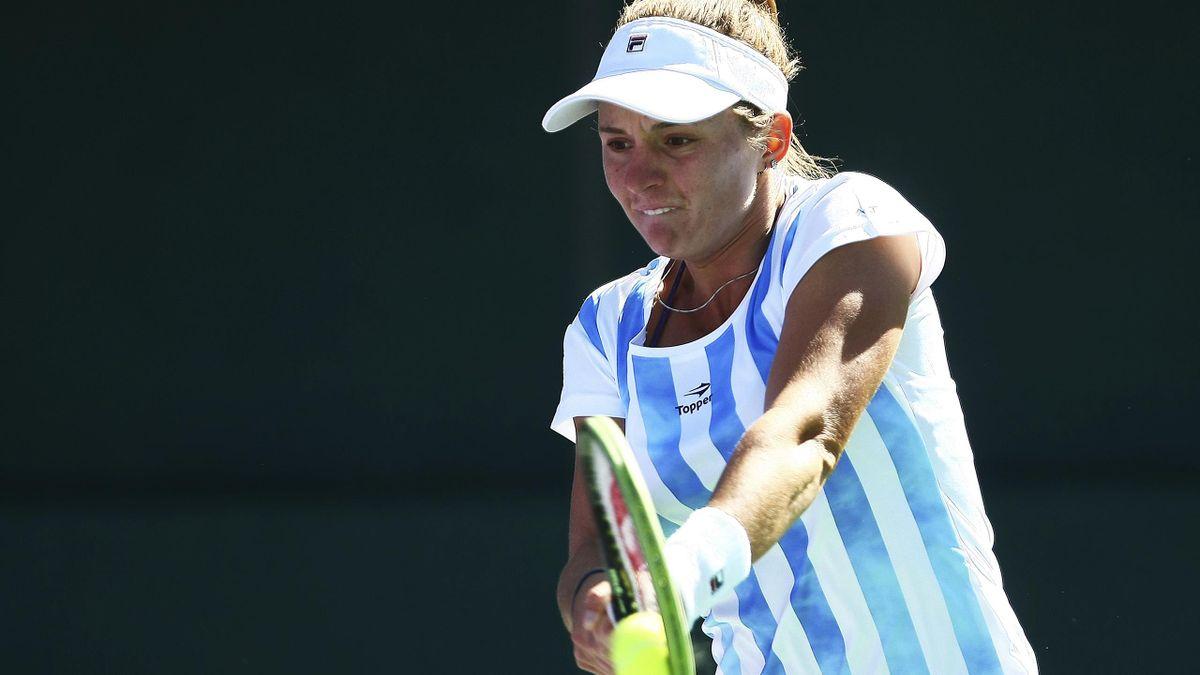 Nadia Podoroska, numărul unu al tenisului feminin în Argentina