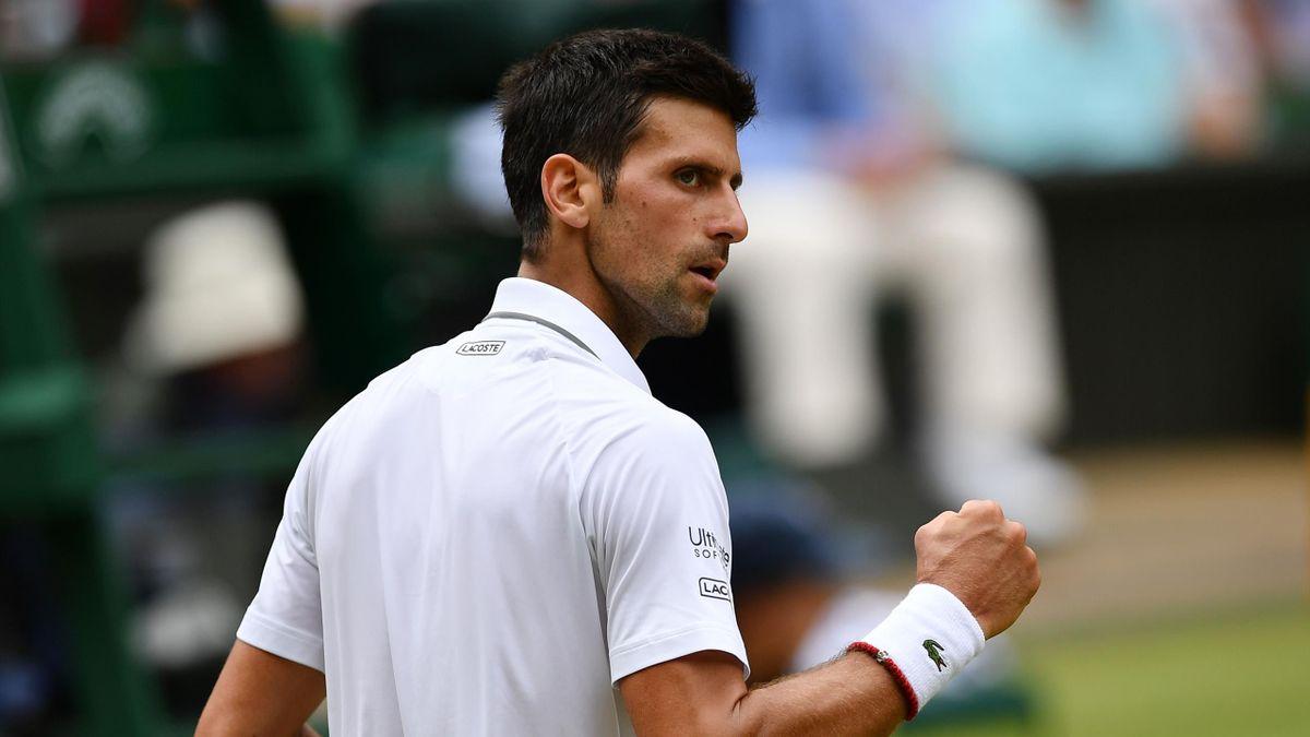 Novak Djokovic à Wimbledon 2019