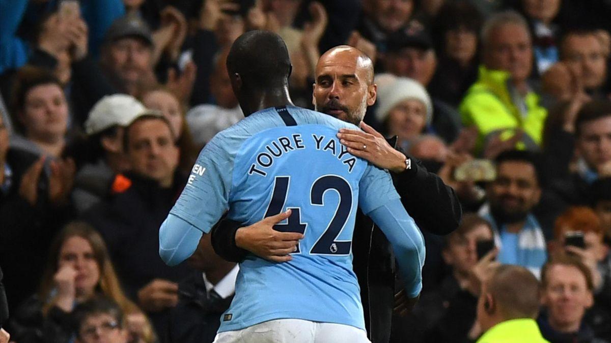 Yaya Toure și Guardiola sunt în relații reci, după ce mijlocașul a părăsit Etihad