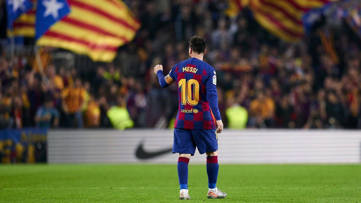 Barcelona Valladolid Leo Messi