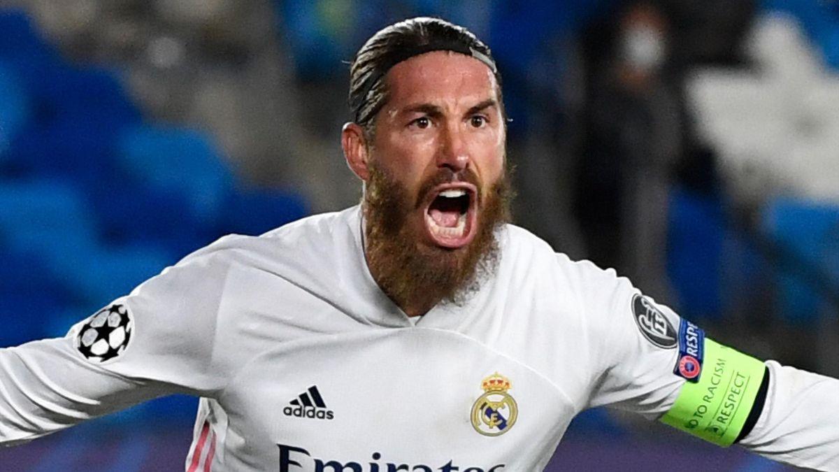 Real Madrid - Sergio Ramos atteint les 100 buts au Real et égale Morientes - Eurosport