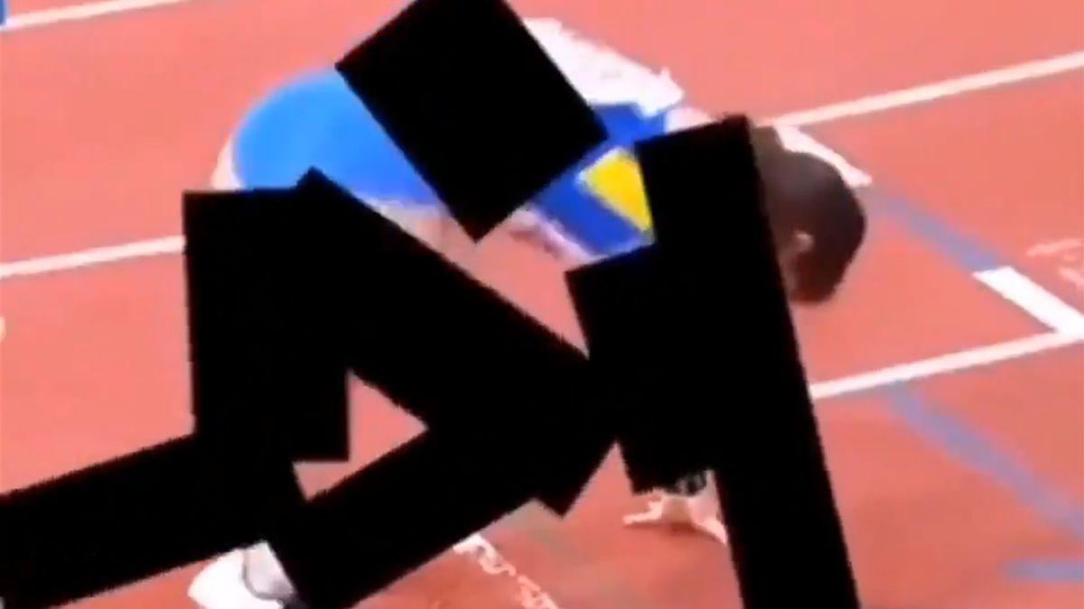 Показ легкой атлетики в Иране