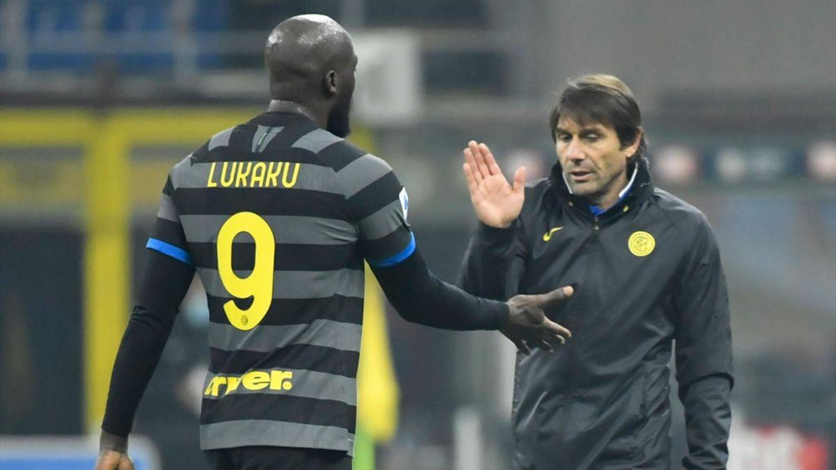 Romelu Lukaku, Antonio Conte