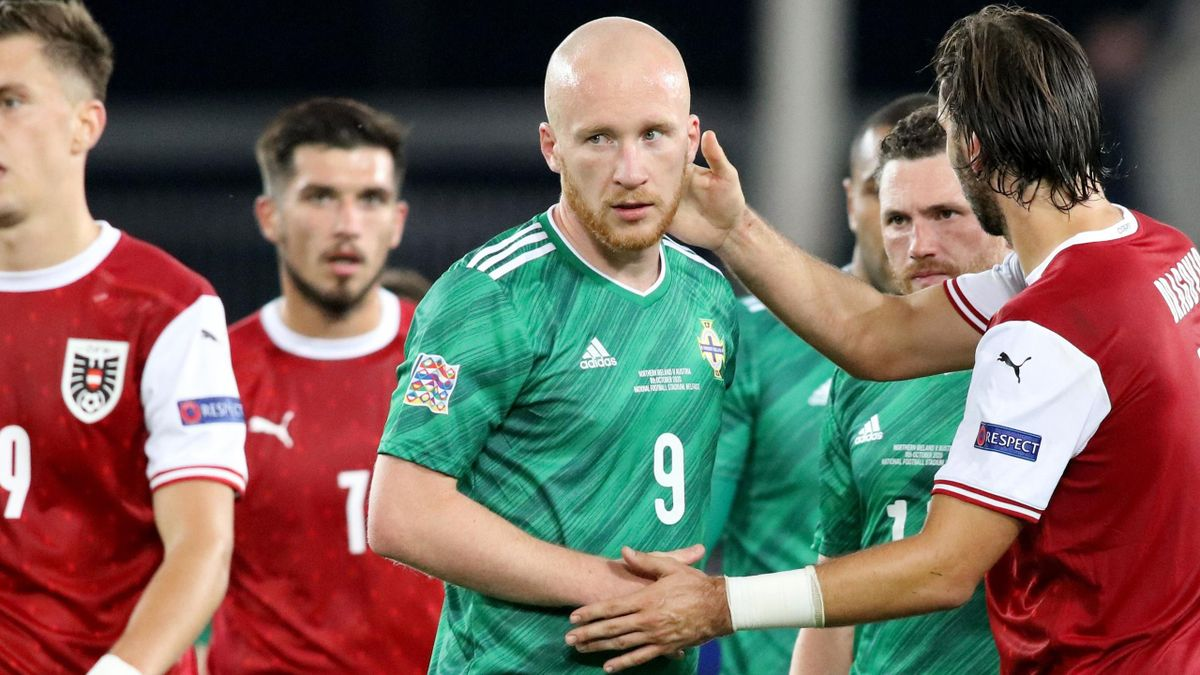 Northern Ireland have been relegated into League C