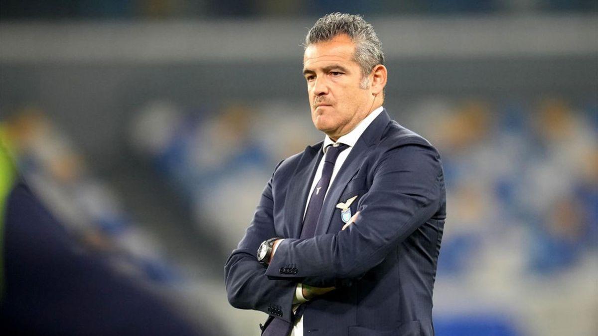Massimiliano Farris, vice allenatore della Lazio - Napoli-Lazio Serie A 2020-21