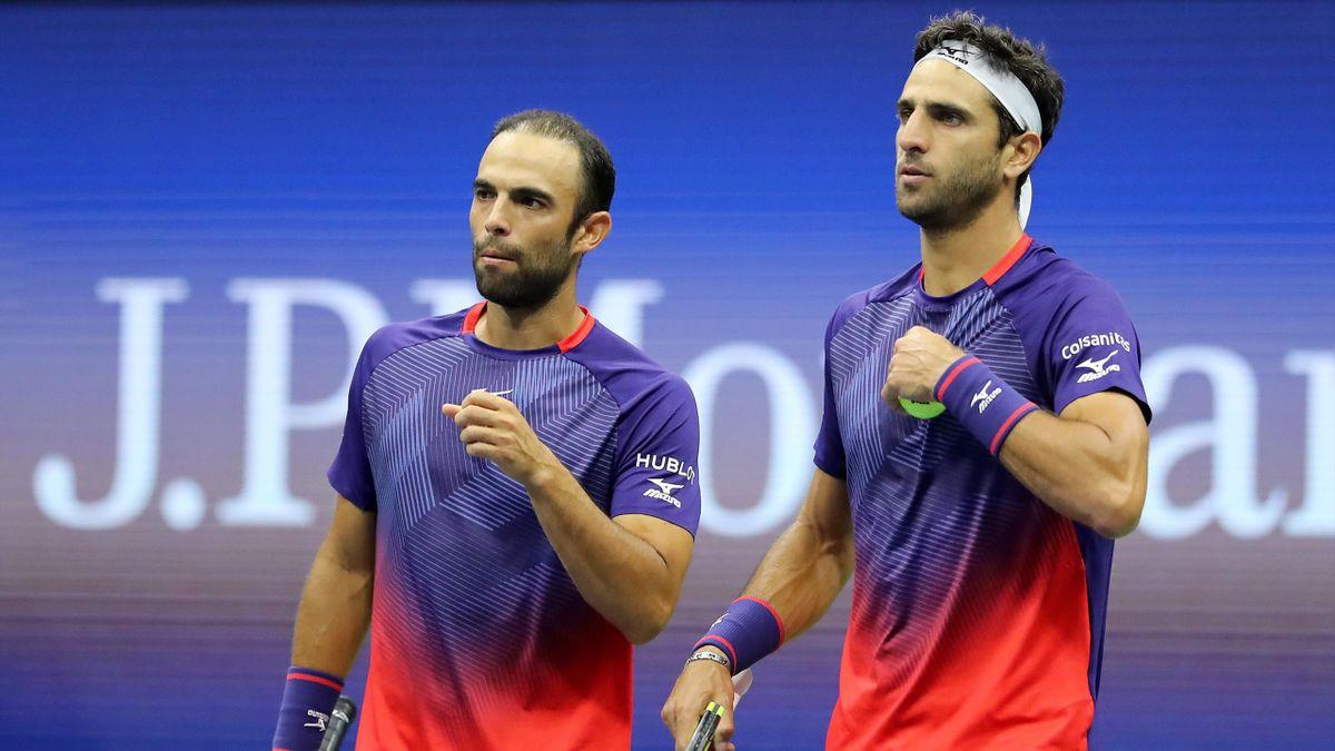 Juan Sebastian Cabal et Robert Farah à l'US Open en 2019
