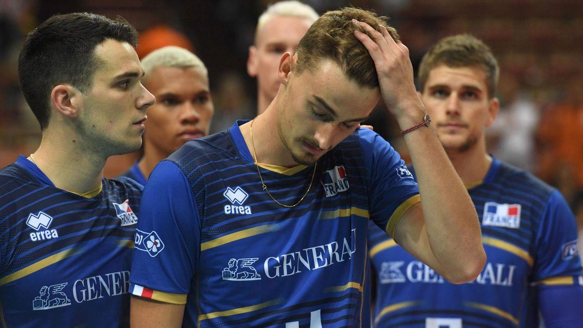 La détresse de Jean Patry et de l'équipe de France de volley