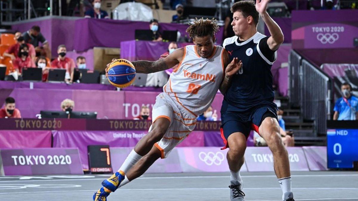 Tokyo 2020 | 3x3 basketballers winnen overtuigend van Rusland
