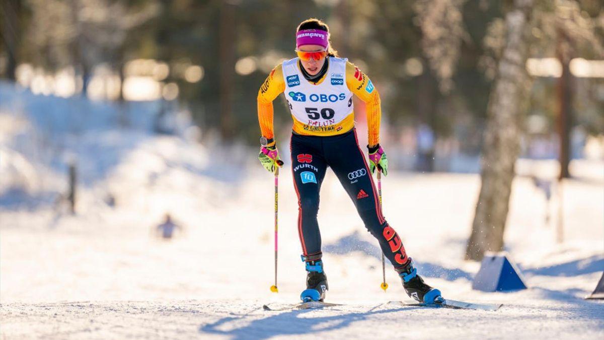 Sofie Krehl hat in Ulricehamn erstmals in ihrer Karriere eine Top-Ten-Platzierung im Weltcup erreicht
