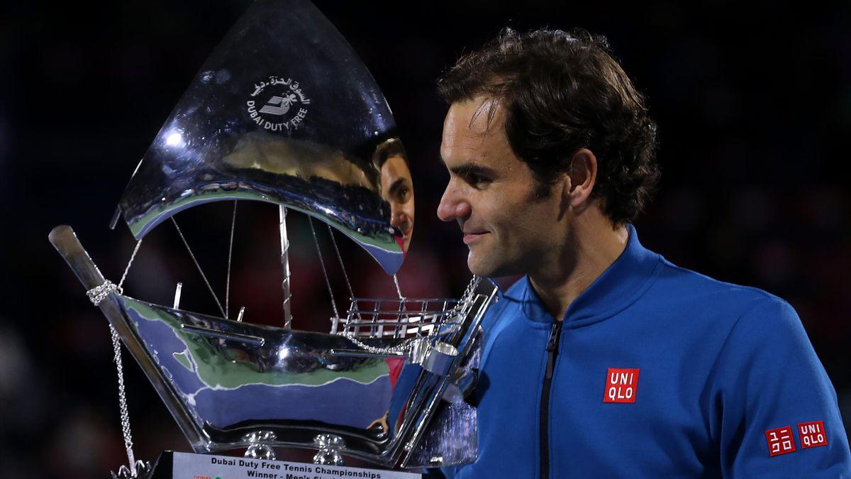 Roger Federer - Dubai