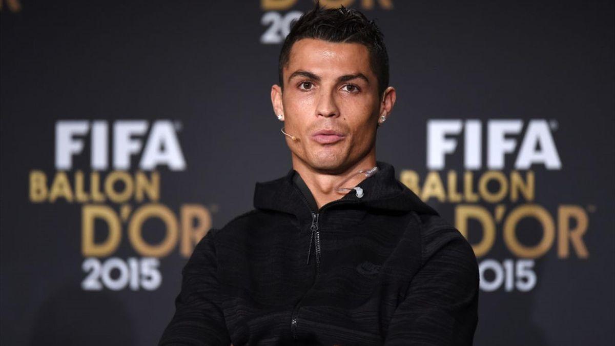 Cristiano Ronaldo - Ballon d'Or 2015 - Getty Images