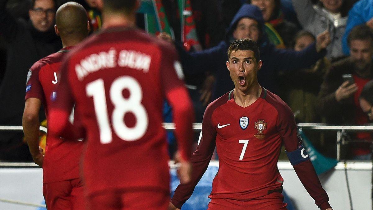 Cristiano Ronaldo feirer