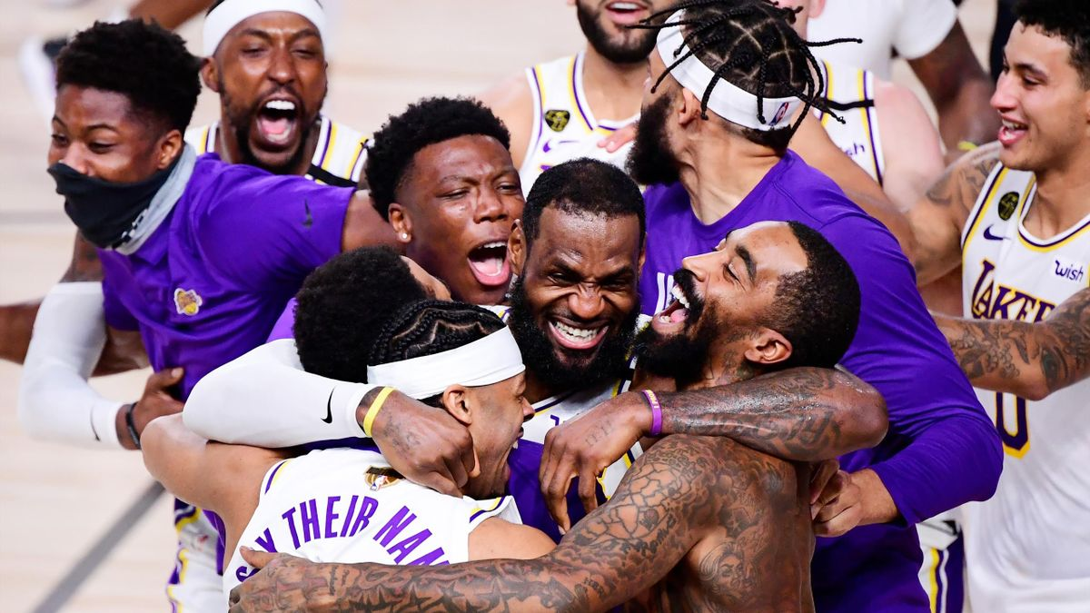 LeBron James et les Lakers, champions NBA 2020