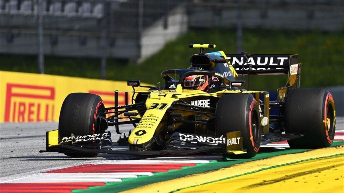 Esteban Ocon (Renault) au Grand Prix de Styrie 2020