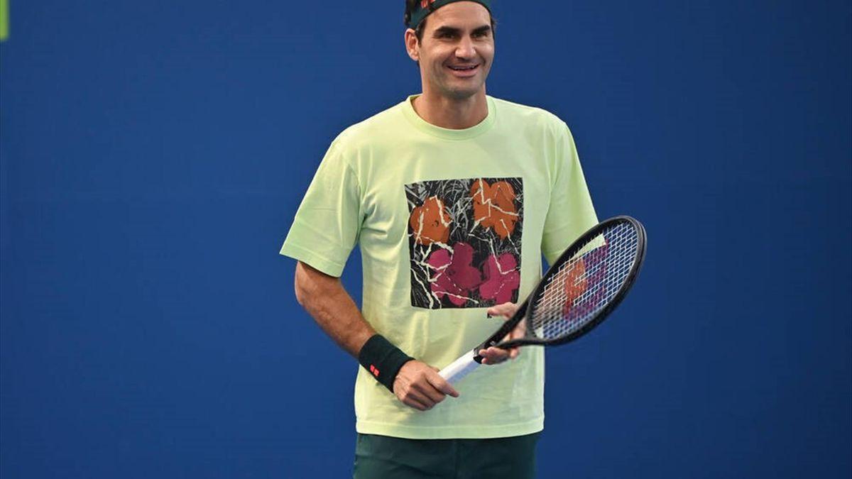 Roger Federer. Credit: Paul Zimmer
