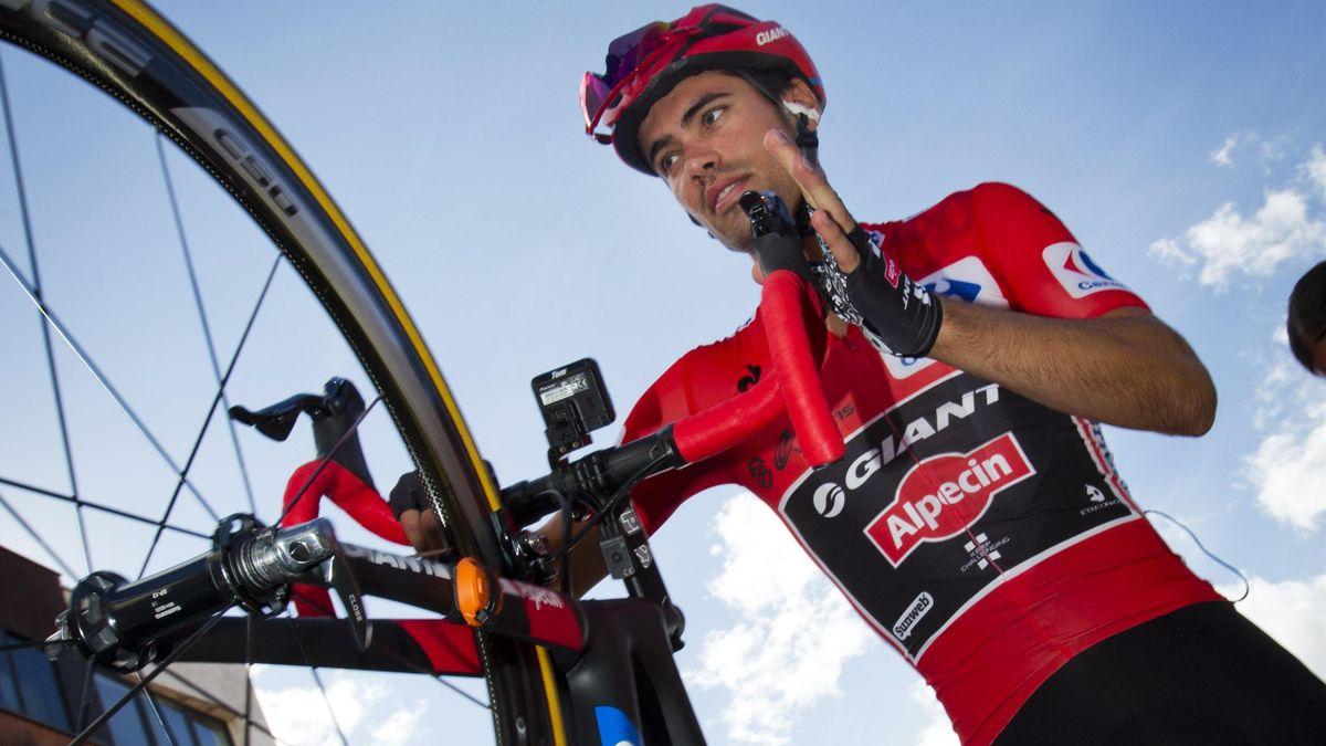 Tom Dumoulin, líder de La Vuelta 2015