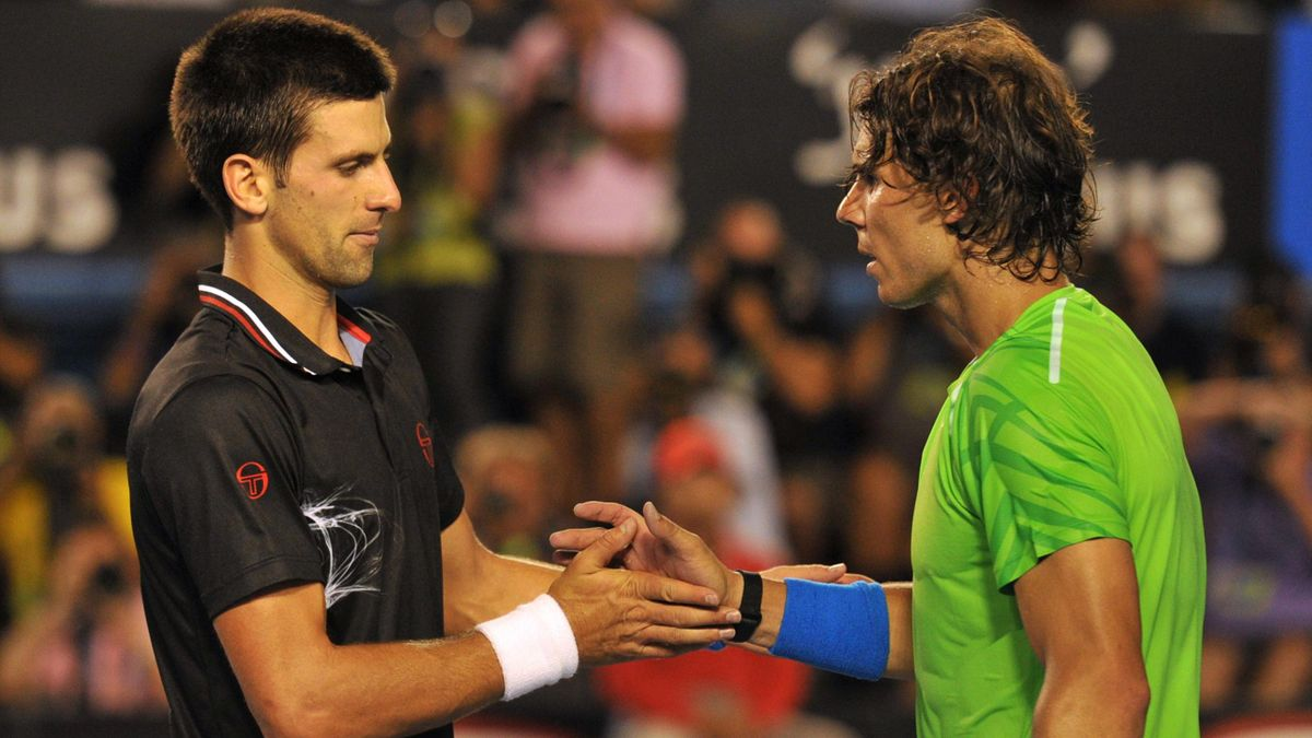 TENNIS 2012 Australian Open - Djokovic et Nadal