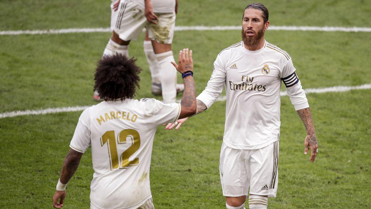 Sergio Ramos und Marcelo