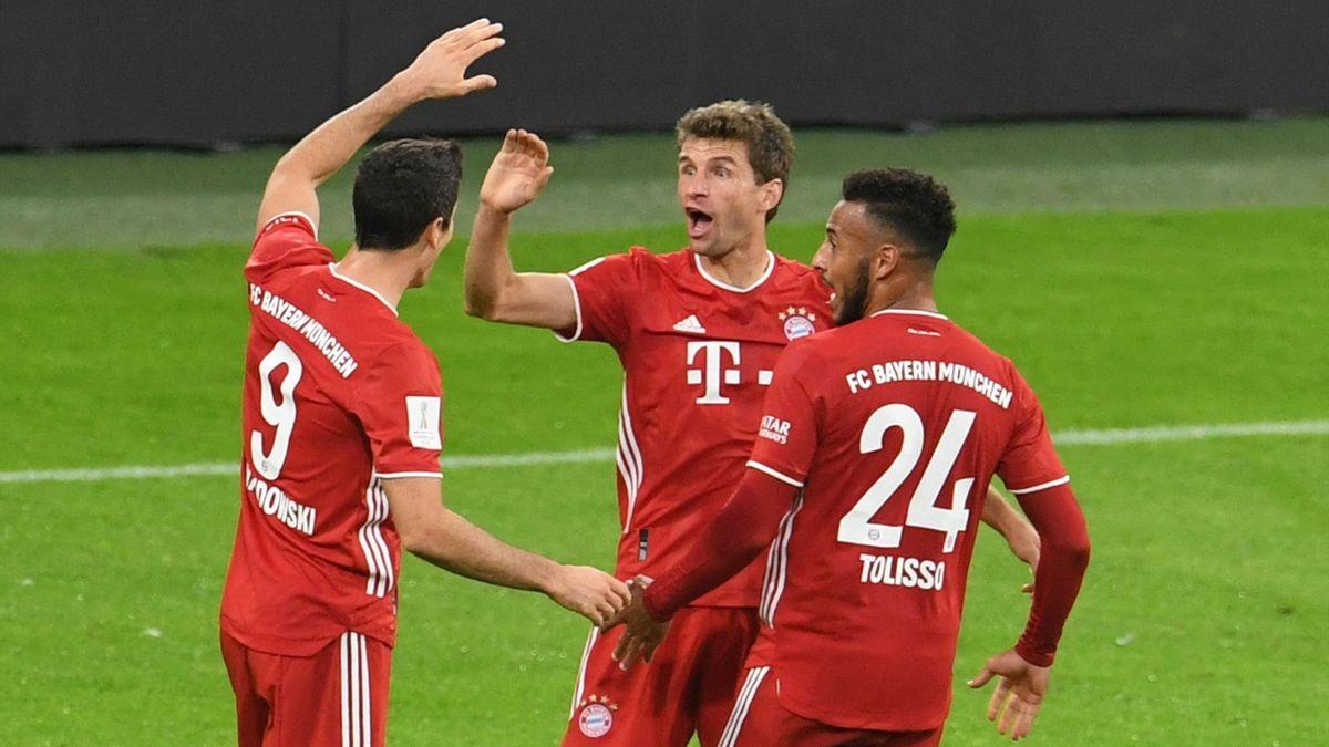 Bayern Munchen sărbătorește victoria