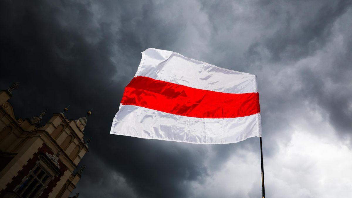 Беларусь, флаг БЧБ, 2021 год