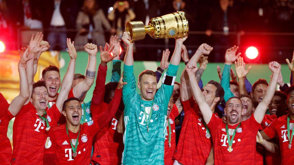 Der FC Bayern München gewann 2019 den DFB-Pokal