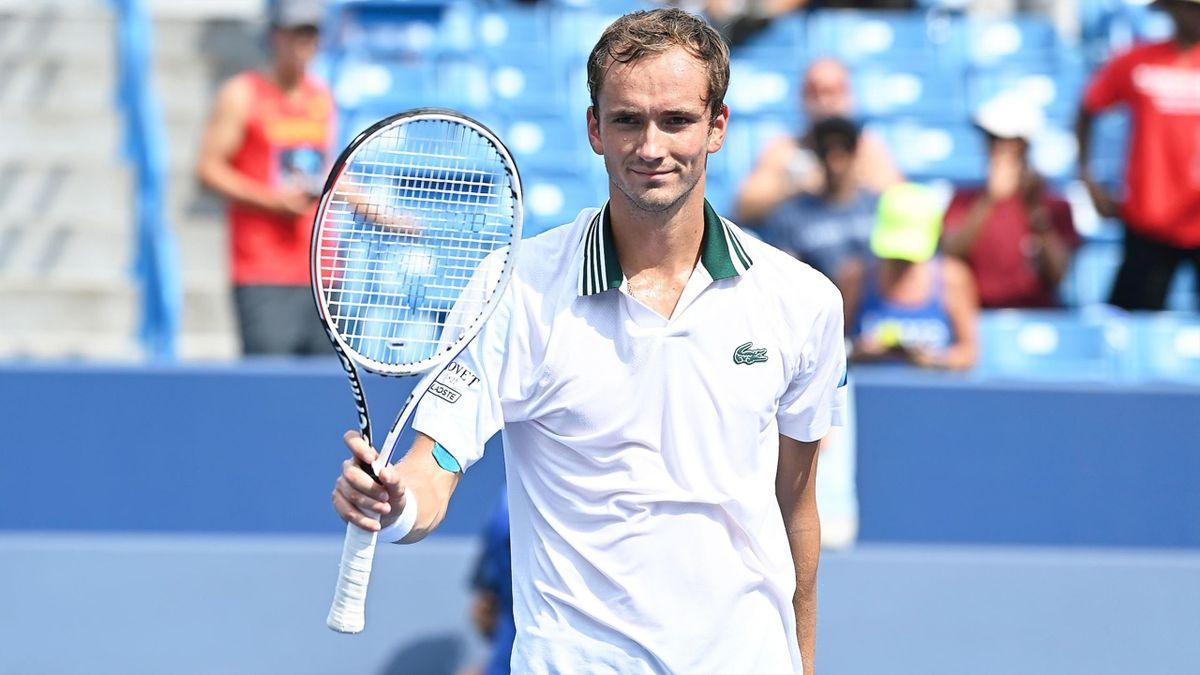 Daniil Medvedev (Fuente: Twitter de ATP Tour)