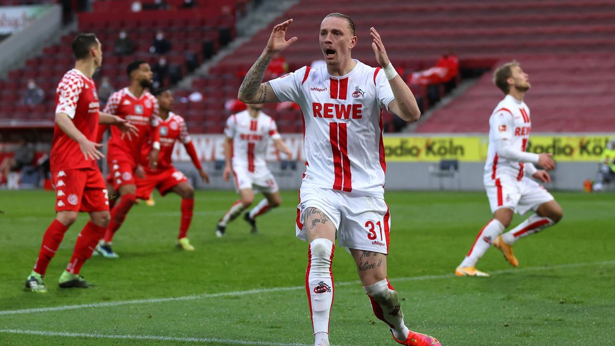 Marius Wolf (1. FC Köln) im Spiel gegen Mainz 05