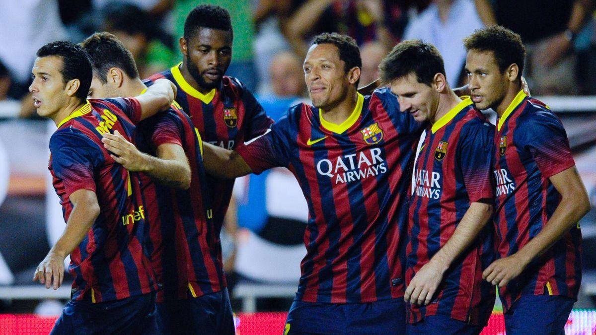 El Barcelona ganó en Vallecas en 2013, pero perdió la posesión contra el Rayo de Paco Jémez