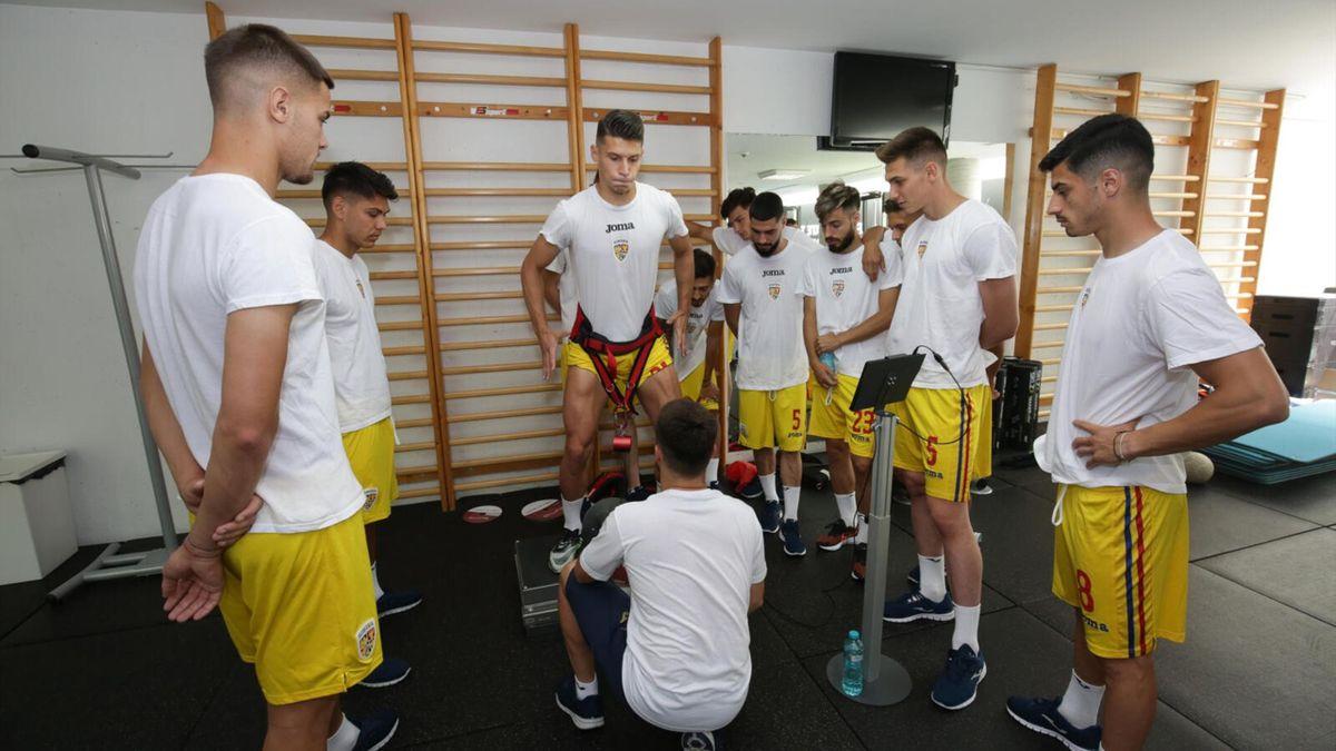 Teste fizice pentru tricolorii U23 înainte de Jocurile Olimpice