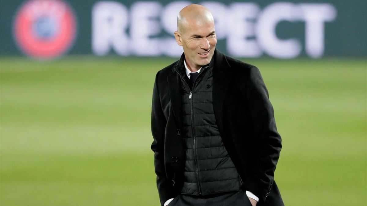 Zinedine Zidane, Real Madrid-Atalanta, Champions League