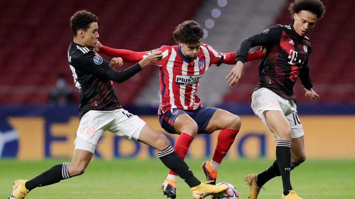 Atletico Madrid gegen den FC Bayern
