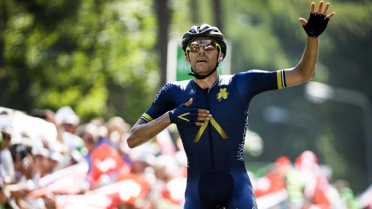 Larry Warbasse, en la Vuelta a Suiza
