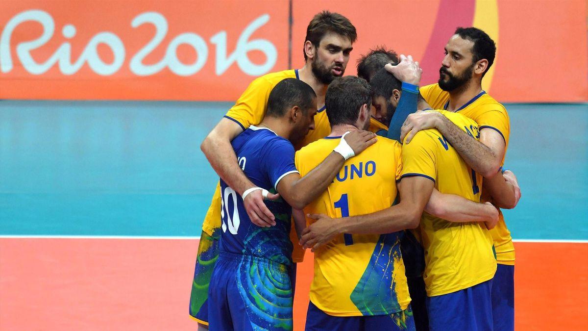 Volleyball, Brazil national man team - Rio-2016