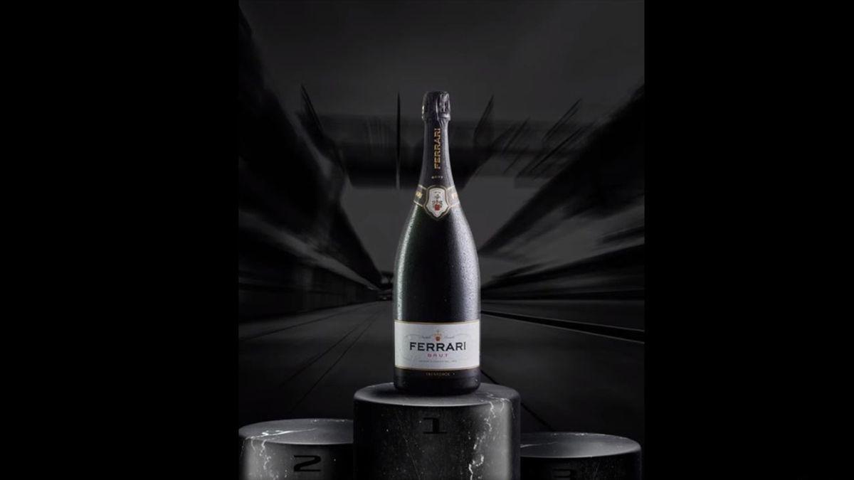 Niente più Champagne sul podio: in F1 si brinderà con il Ferrari