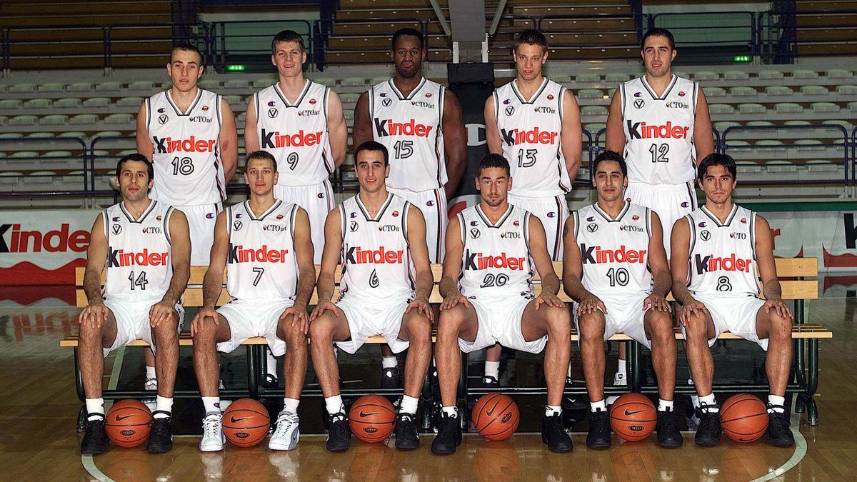 Virtus Bologna 2000-2001 (LaPresse)