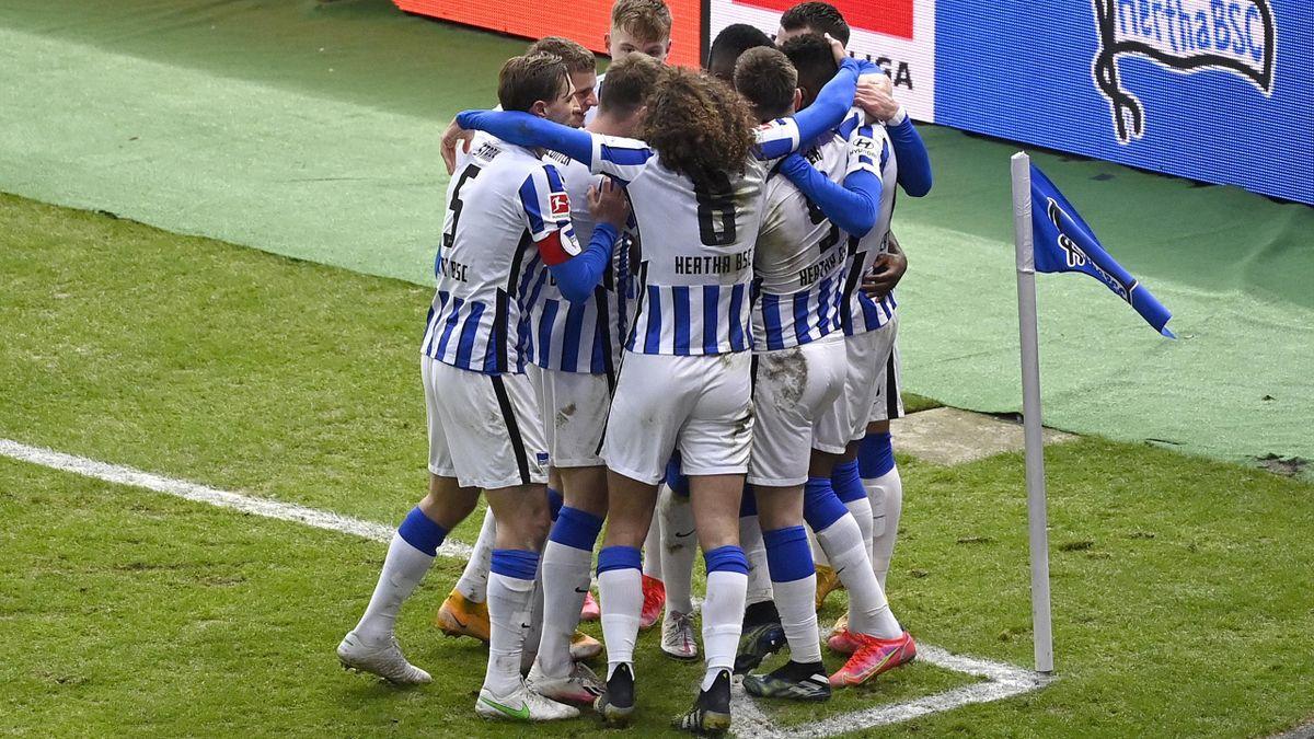 Jubel bei Hertha BSC