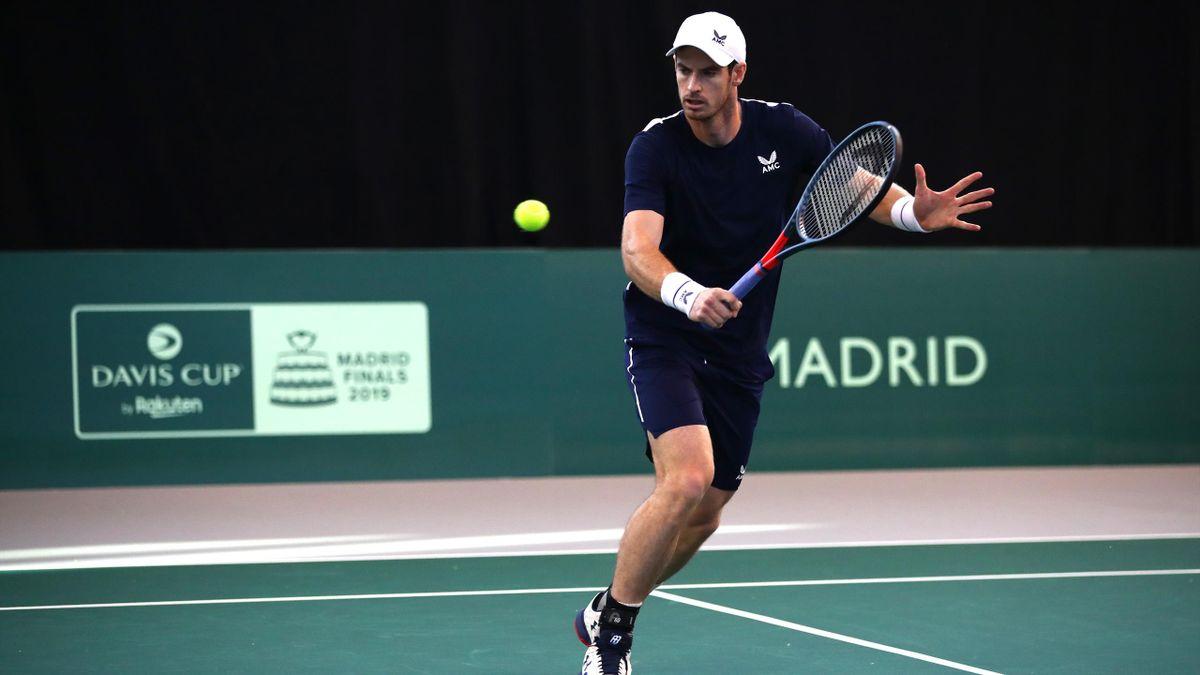Andy Murray beim Davis Cup für Großbritannien