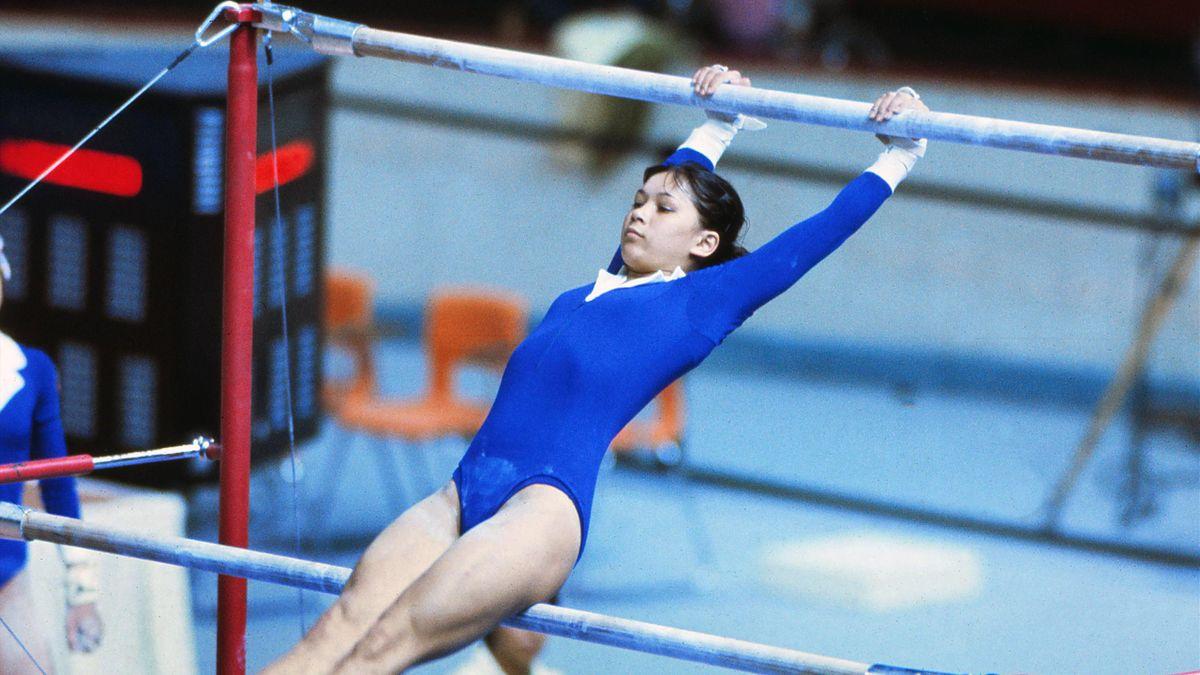Нелли Ким на ОИ-1976