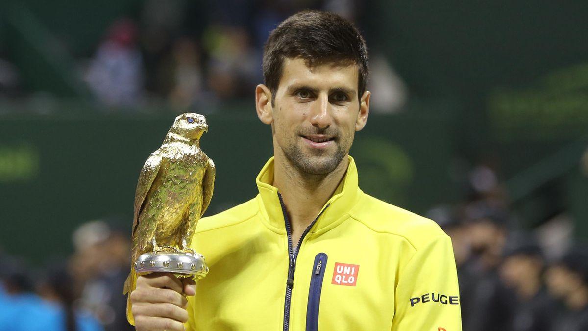 Novak Djokovic vainqueur du tournoi ATP de Doha 2016