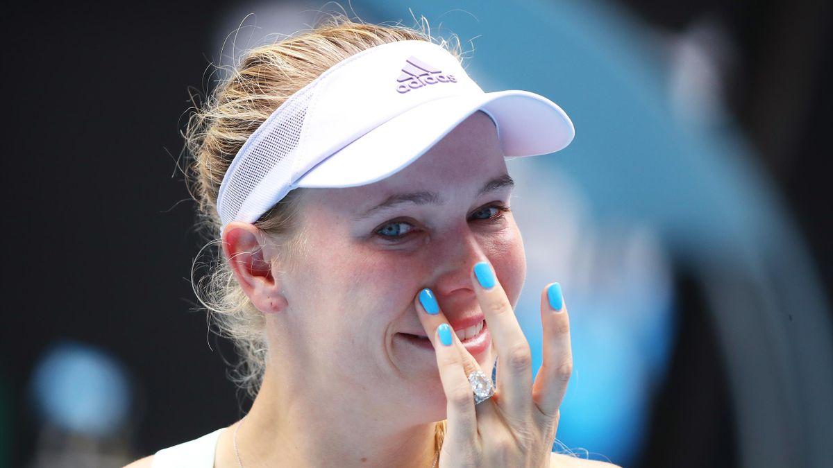 Caroline Wozniacki, emozionata Australian Open 2020