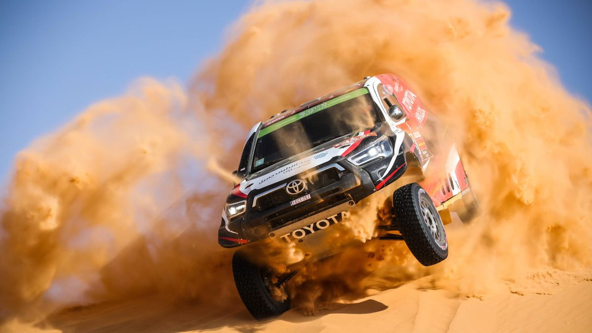 Dirk von Zitzewitz/Yazeed Al Rajhi - Rallye Dakar