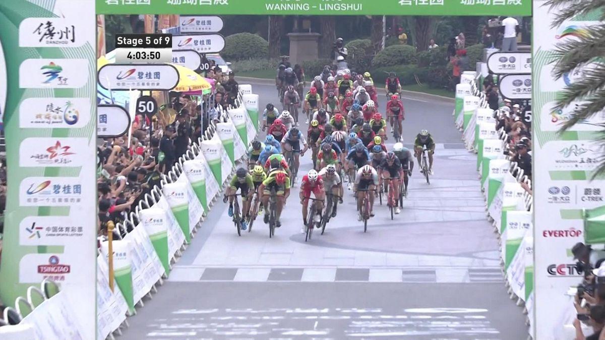 Tour of Hainan - Stage 5 - Finish