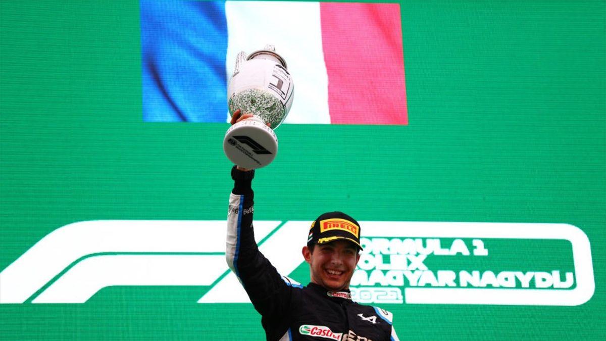 Esteban Ocon (Alpine) - GP of Hungary 2021
