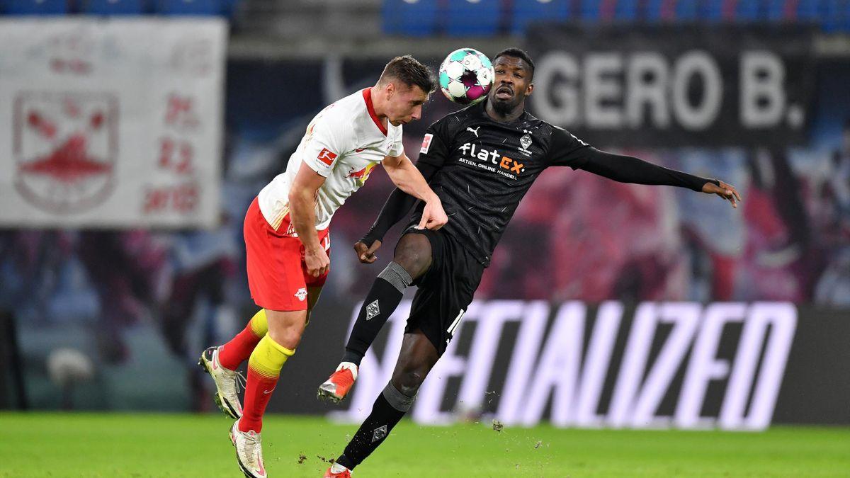 RB Leipzig gegen Borussia Mönchengladbach