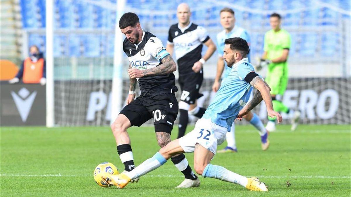 De Paul e Cataldi - Lazio-Udinese - Serie A 2020-2021