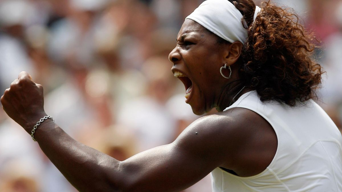 Serena Williams 2009 Dementieva Wimbledon
