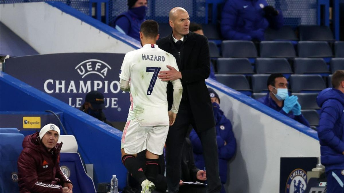 Hazard, Real Madrid, Chelsea, Zidane