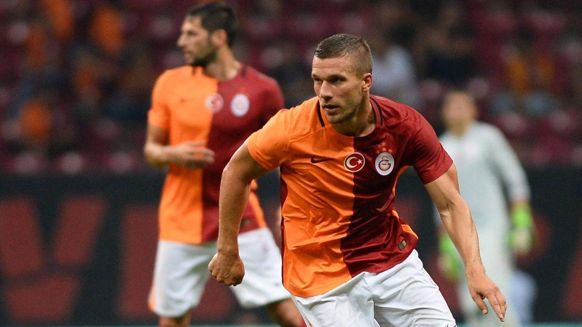 Lukas Podolski traf zum entscheidenden Ausgleich für Galatasaray